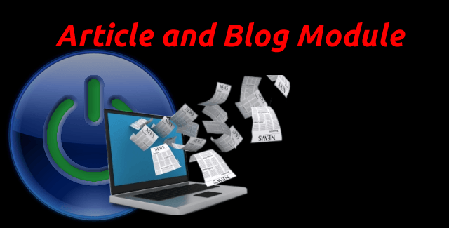 Upgraded Article Module
