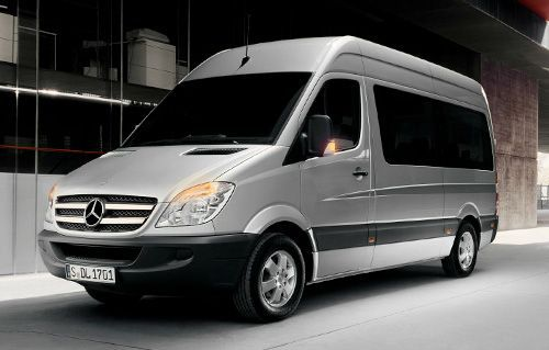 Mercedes Sprinter with 15 seats